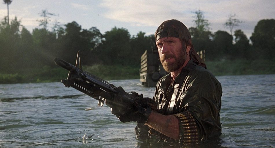 Chuck Norris Movie Missing in Action