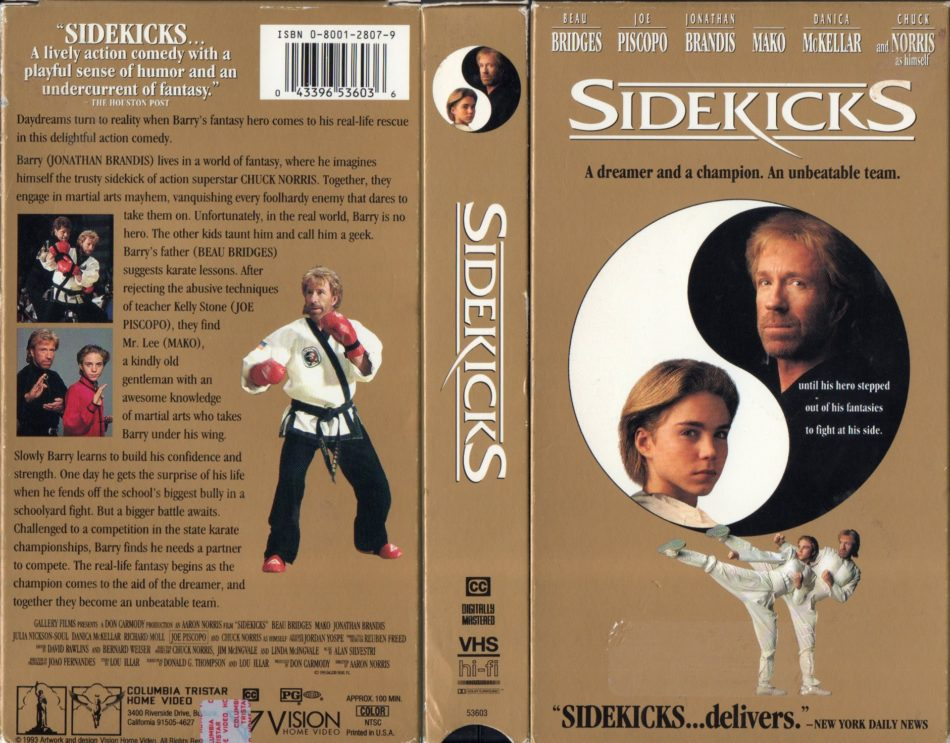 Chuck Norris Sidekicks