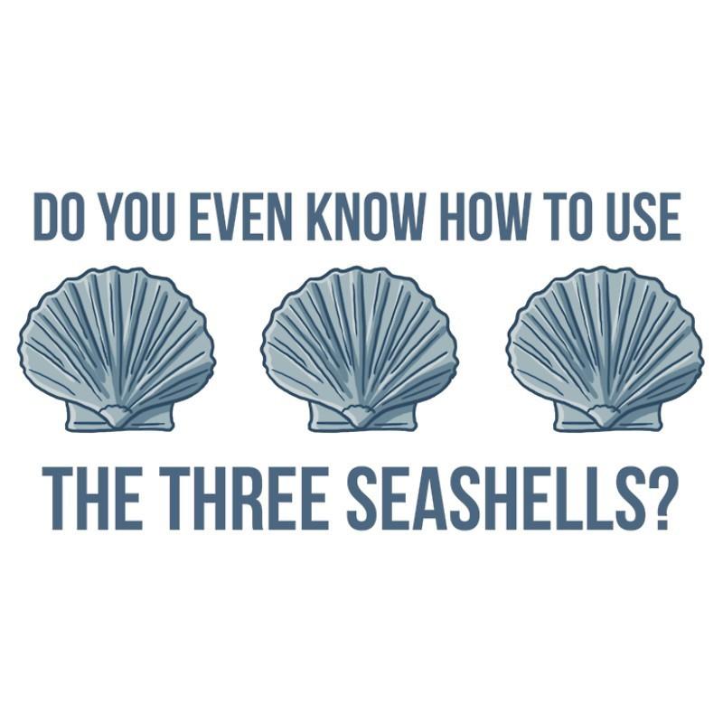 3 Seashells Meme