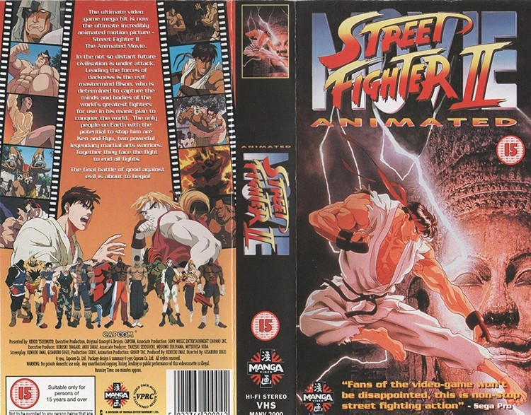 Why Street Fighter II: The Animated Movie is Pure 90s Gold