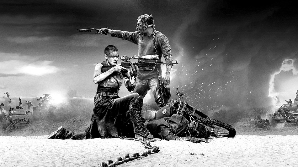 uamc review mad max fury road in black white chrome 4k ultimate