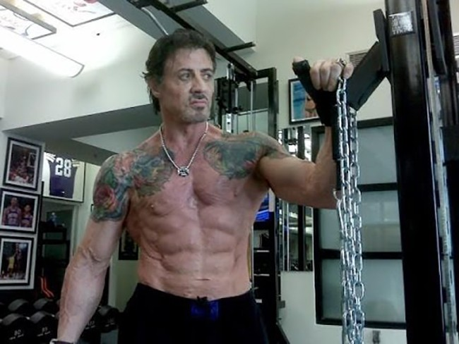 Sylvester Stallone Lifts the Lid on Grueling Rambo 5 Workout