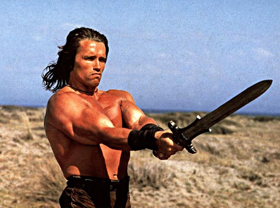 Arnold Schwarzenegger Teases Upcoming 'Conan' Movie with New