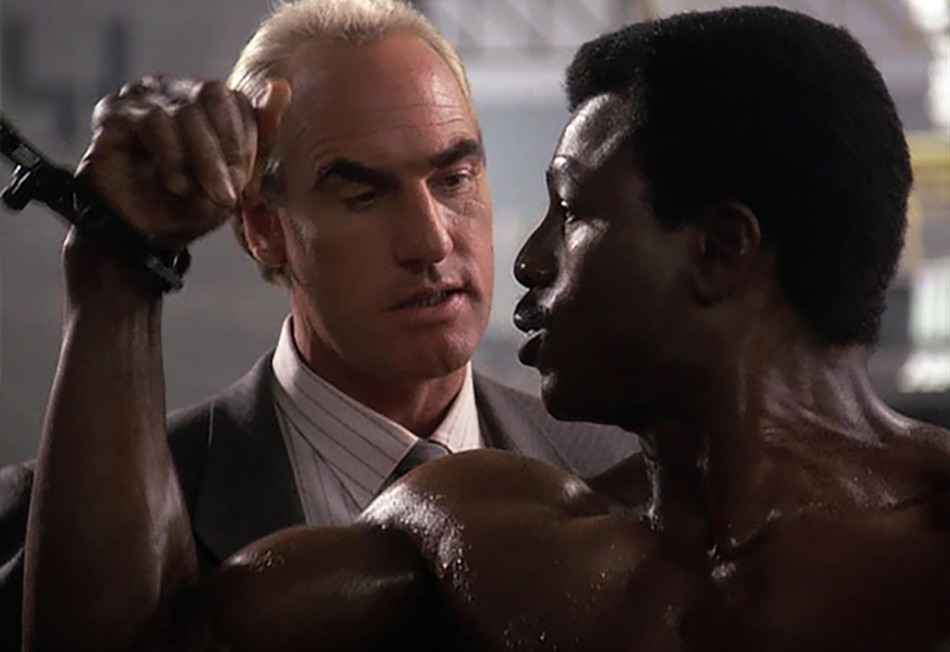 Craig T. Nelson and Carl Weathers