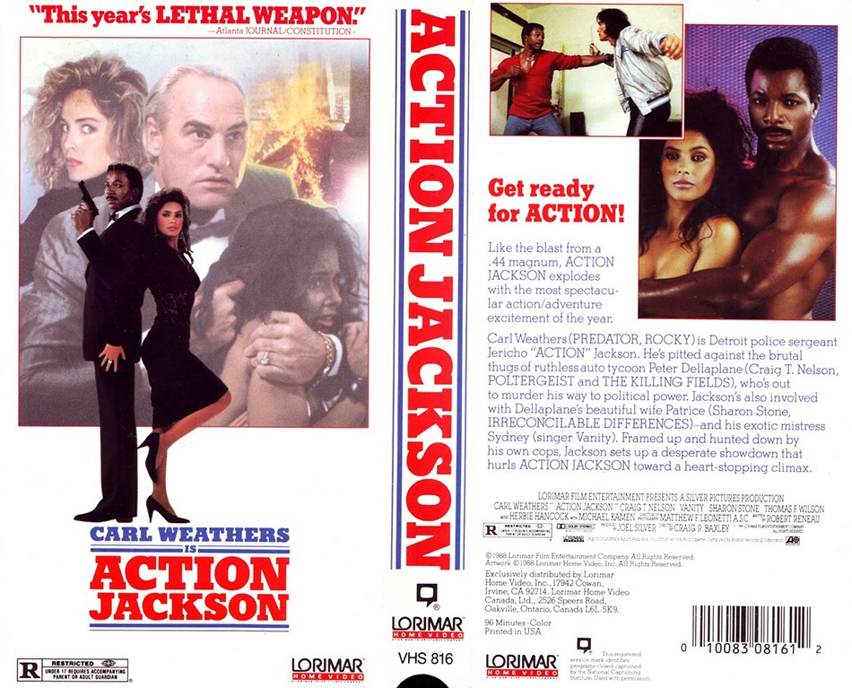 Action Jackson VHS