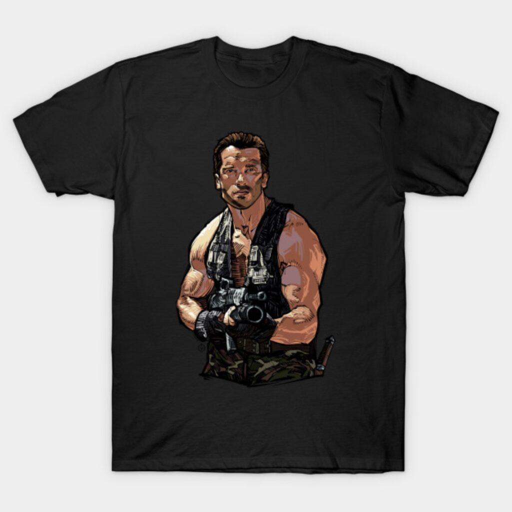 Arnold Schwarzenegger Predator T-Shirt