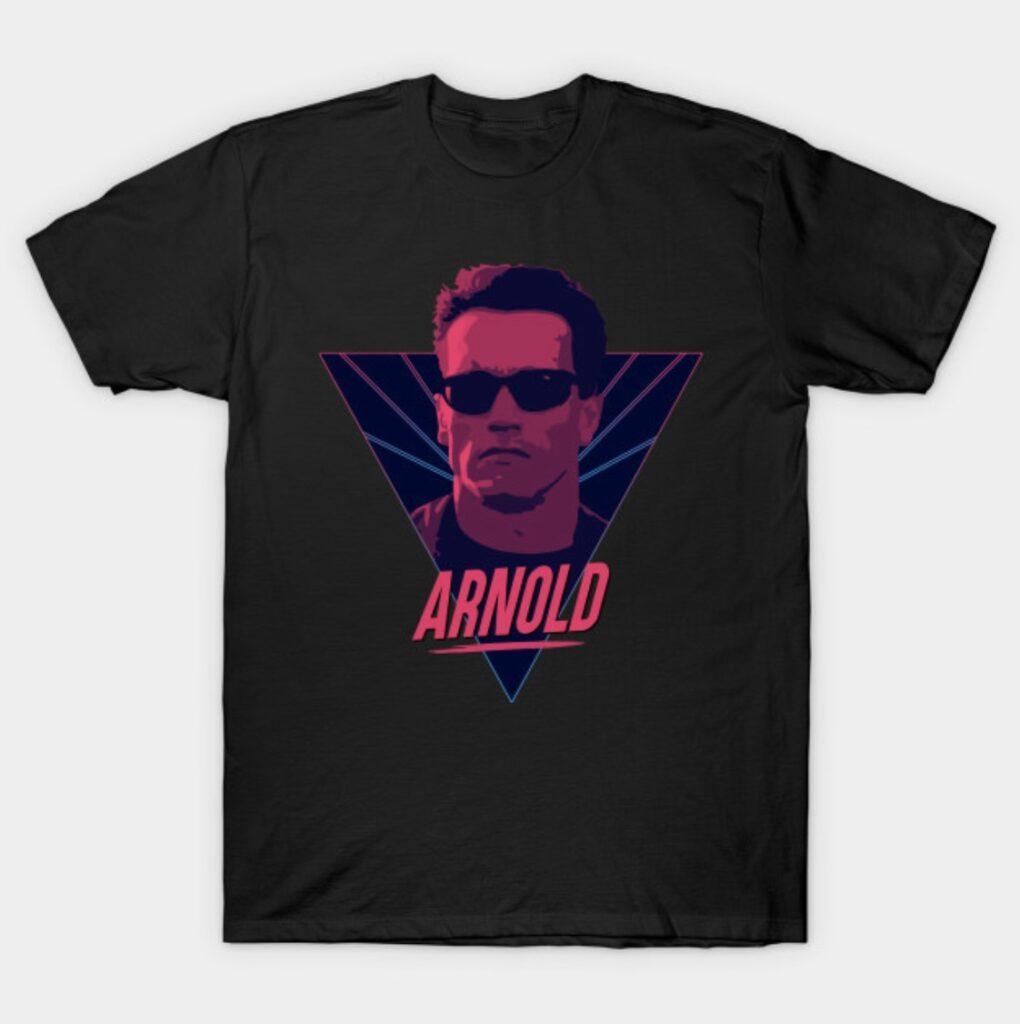 Arnold Schwarzenegger Terminator T-Shirt