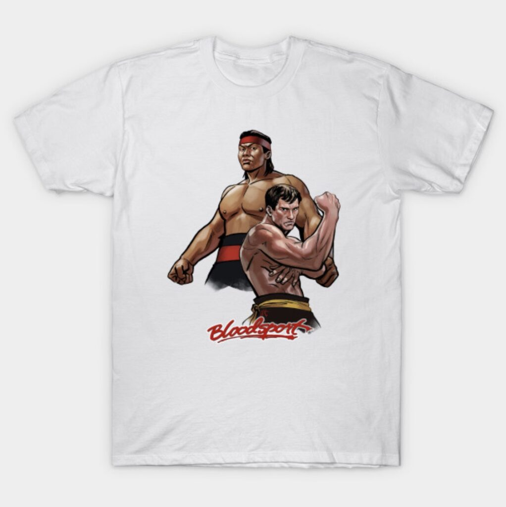 Jean-Claude Van Damme Chong Li Bloodsport T-Shirt