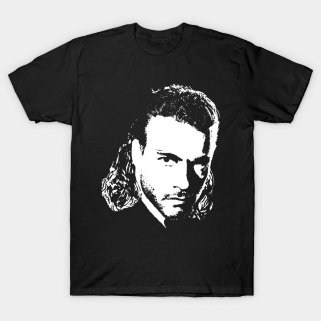 Jean Claude Van Damme Face T-Shirt