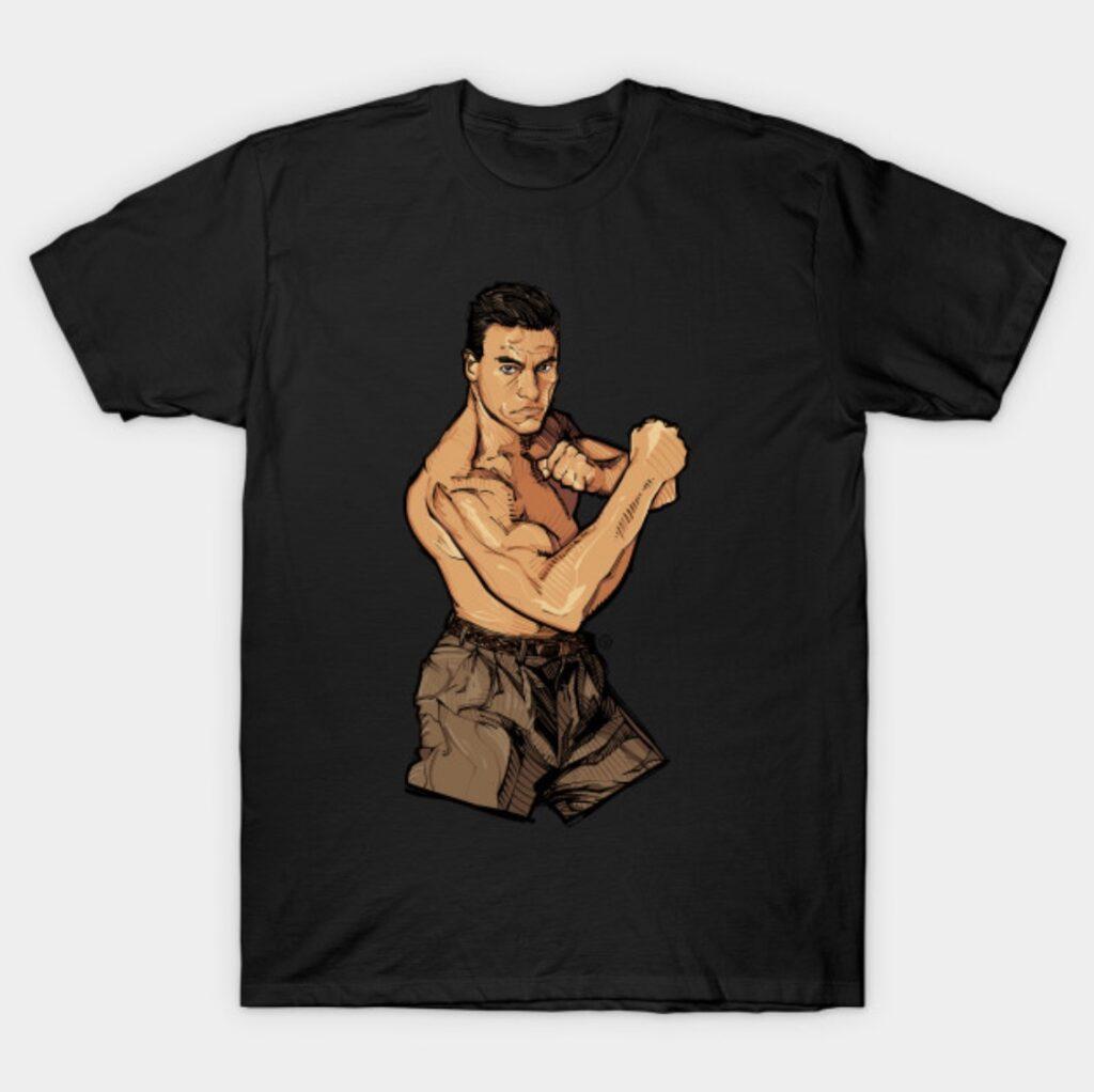 Jean-Claude Van Damme Muscle T-Shirt