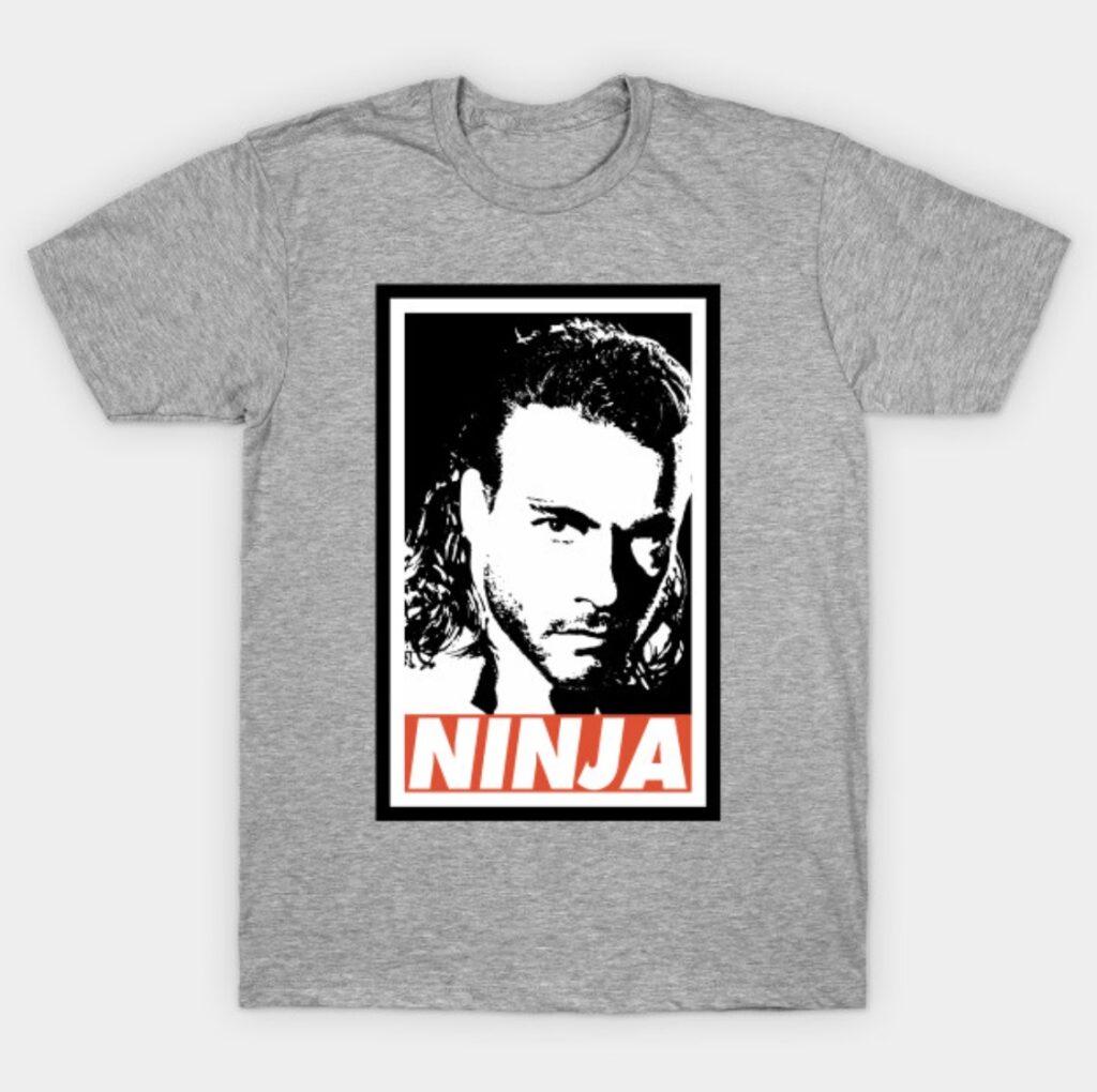 Jean-Claude Van Damme Ninja T-Shirt