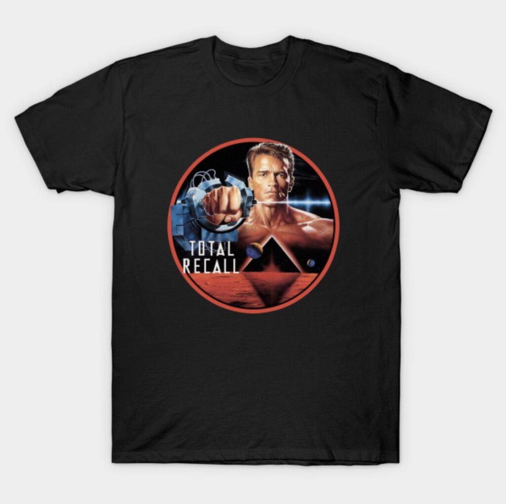 Total Recall Arnold Schwarzenegger T-Shirt